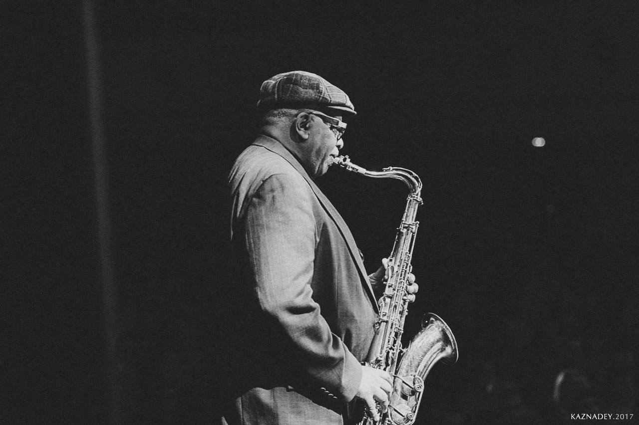 Bill Saxton играет Джаз в Минске JAZZINMINSK в марте 2017 года