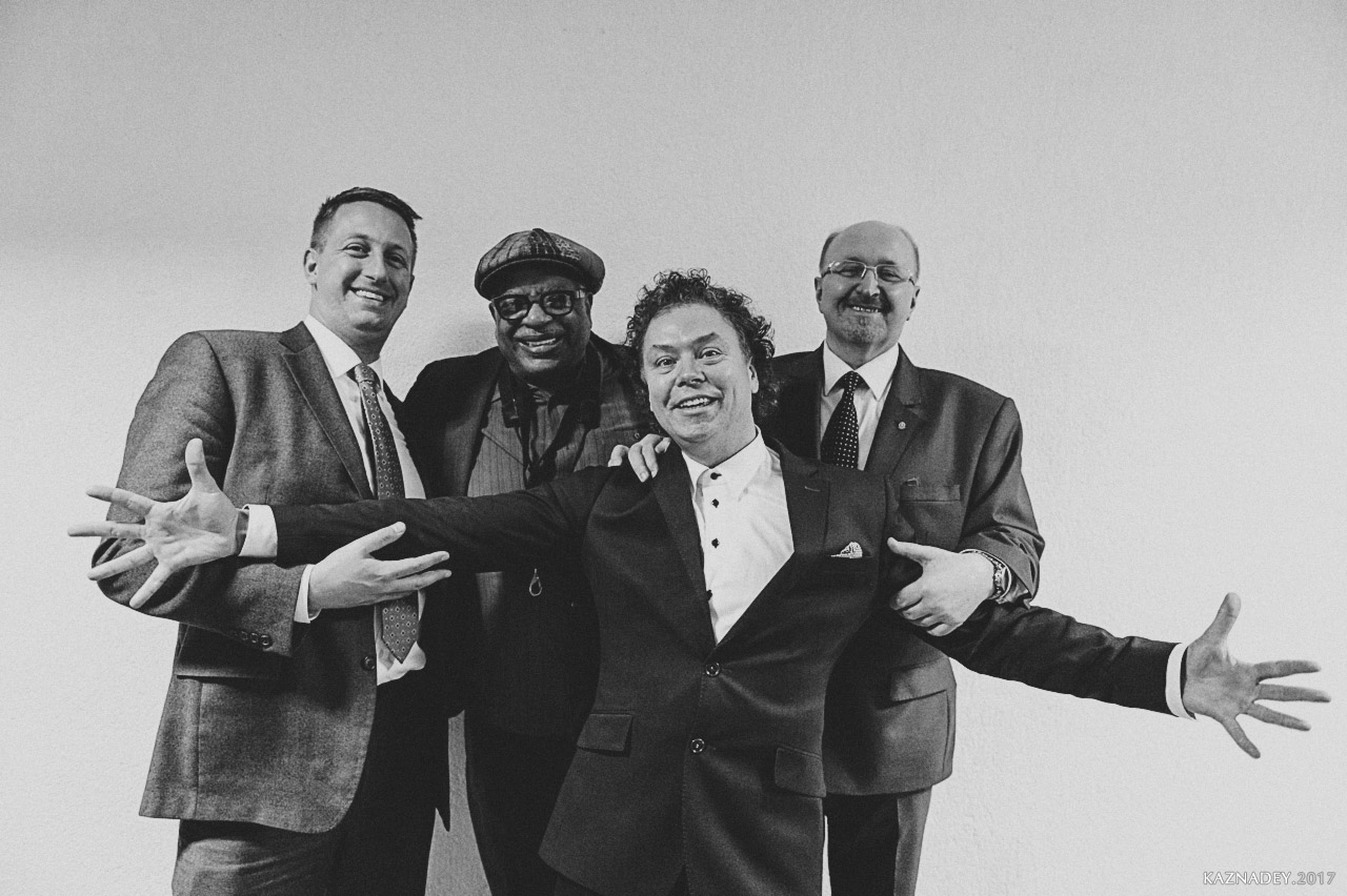Евгенийм Владимиров, Владимир Карягин и Билл Саекстон Звезда Джаза В МИНСКЕ jazzinminsk2017
