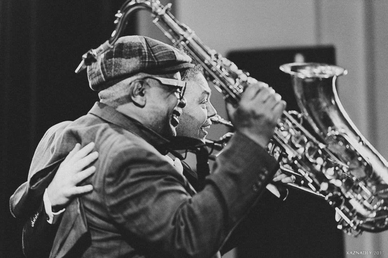 Евгений Владимиров и Bill Saxton на концертах абонемента ДЖАЗ в МИНСКЕ jazz in Minsk