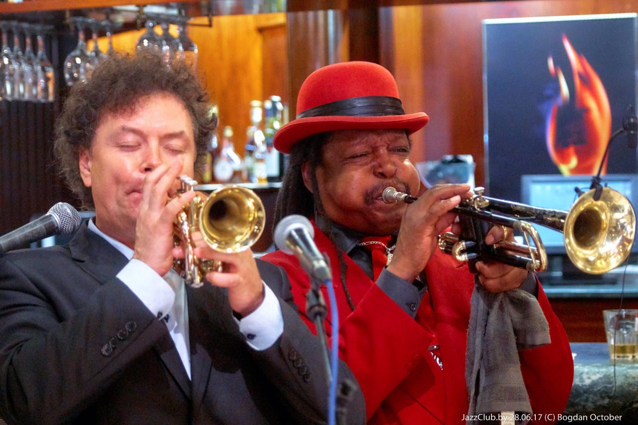 Евгений Владимиров и Boney Fields в Джаз-Клубе Jazz in Minsk, ДЖАЗ В МИНСКЕ