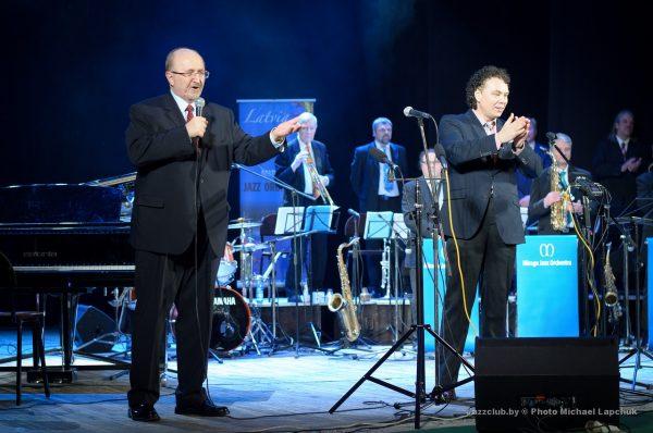 Владимир Карягин и Евгений Владимиров джаз в Минске JazzinMinsk-2016