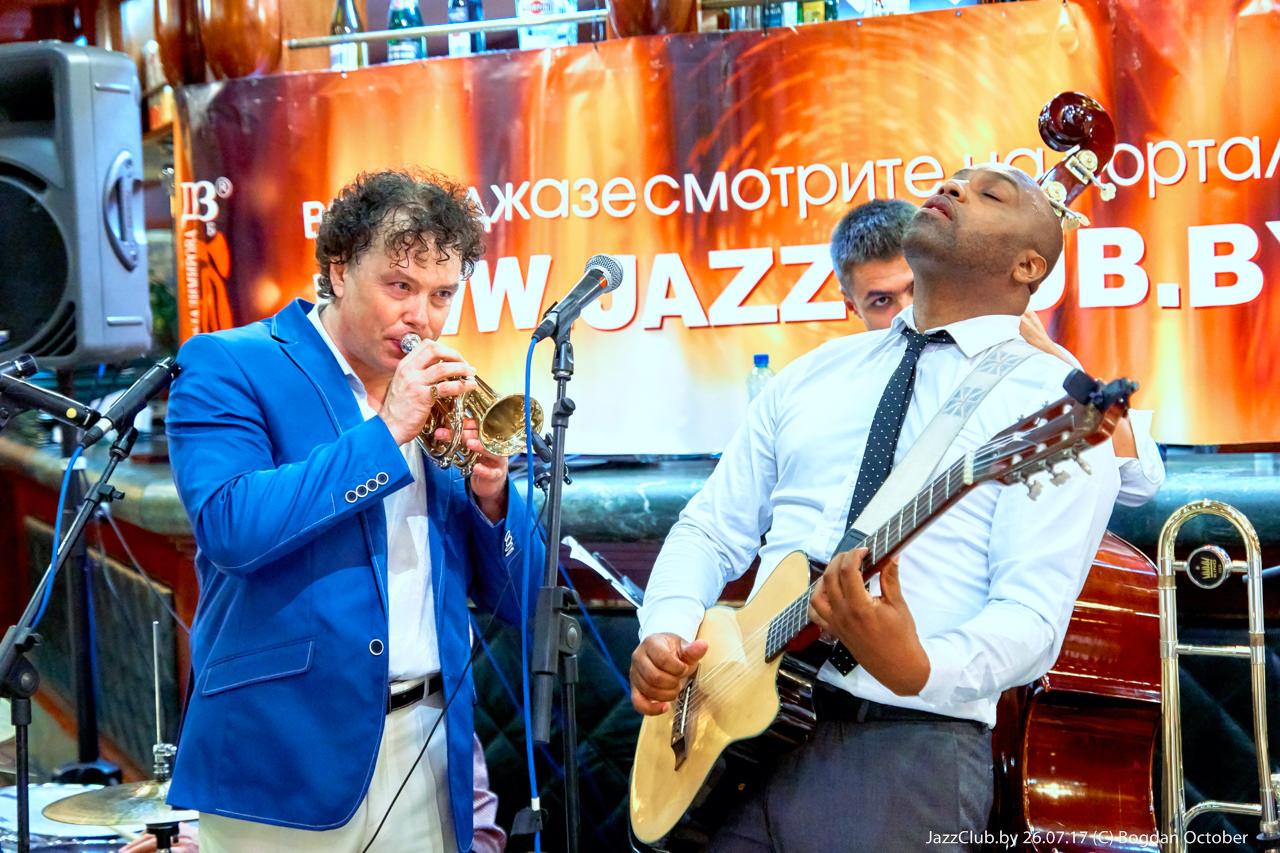 Евгений Владимиров в Джаз-клубе, проект ДЖАЗ в МИНСКЕ
