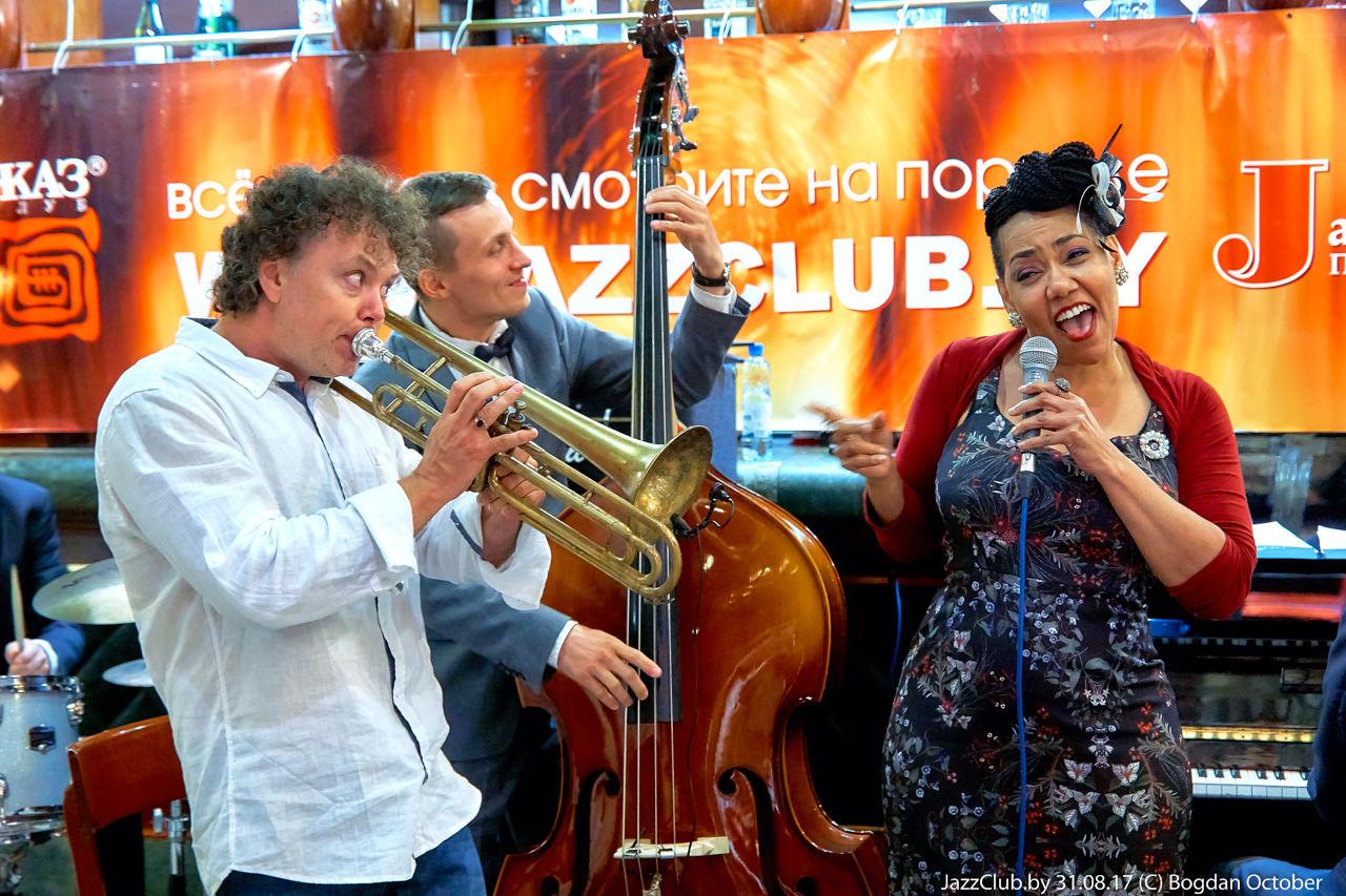 ДЖАЗ в МИНСКЕ- Евгений Владимиров и Deborah Davis, 31/08/2017 в Джаз-Клубе www.jazzclub,by