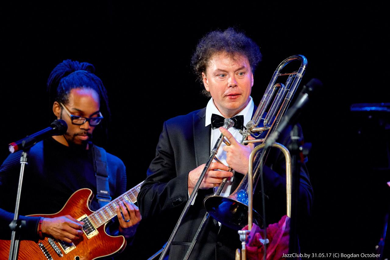 ДЖАЗ в МИНСКЕ: Евгений Владимиров и Jossia Woodson в Джаз-Клубе Jazz in Minsk