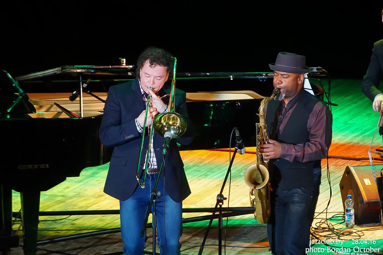 ДЖАЗ в МИНСКЕ: Евгений Владимиров и Denise Baptiste в Джаз-Клубе Jazz in Minsk 29/04/2016
