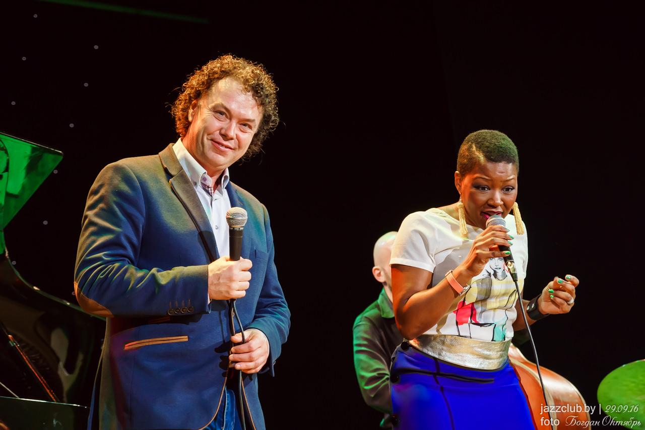 ДЖАЗ в МИНСКЕ: Евгений Владимиров и Monik Thomas в Джаз-Клубе Jazz in Minsk 30/09/2016