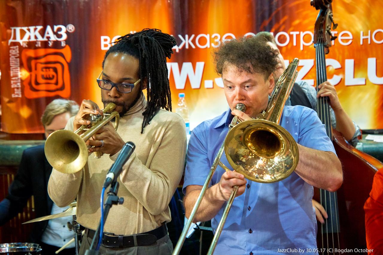 ДЖАЗ в МИНСКЕ: Евгений Владимиров - Jossiah Woodson в Джаз-Клубе Jazz in Minsk 08/04/2017
