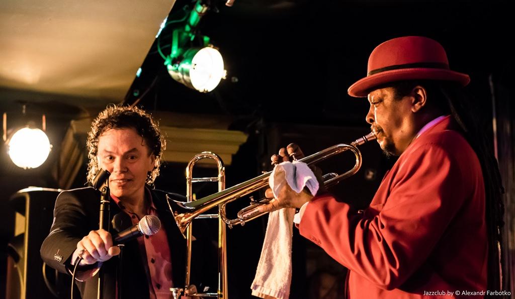 ДЖАЗ в МИНСКЕ: Евгений Владимиров и Boney Fields в Джаз-Клубе Jazz in Minsk 30/01/2016