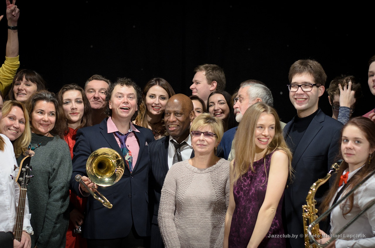 Евгений Владимиров и поклонники ДЖАЗ в МИНСКЕ на фестивале JazzInMinsk-2016