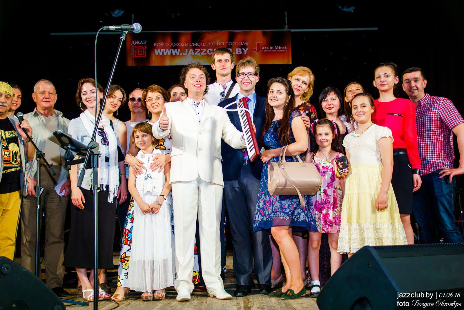 ДЖАЗ в МИНСКЕ: Евгений Владимиров и поклонники в Джаз-Клубе Jazz in Minsk 30/05/2016