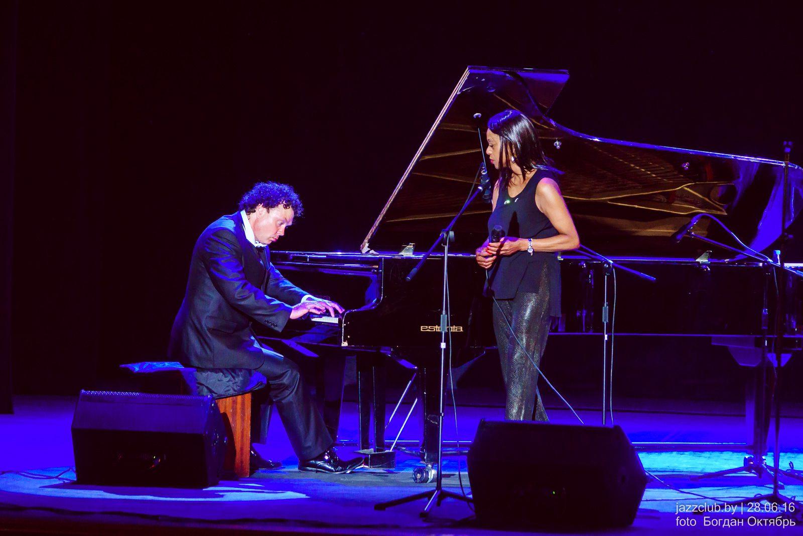 Евгений ВЛАДИМИРОВ и Sylvia Howard - ДЖАЗ в МИНСКЕ, июнь 2016