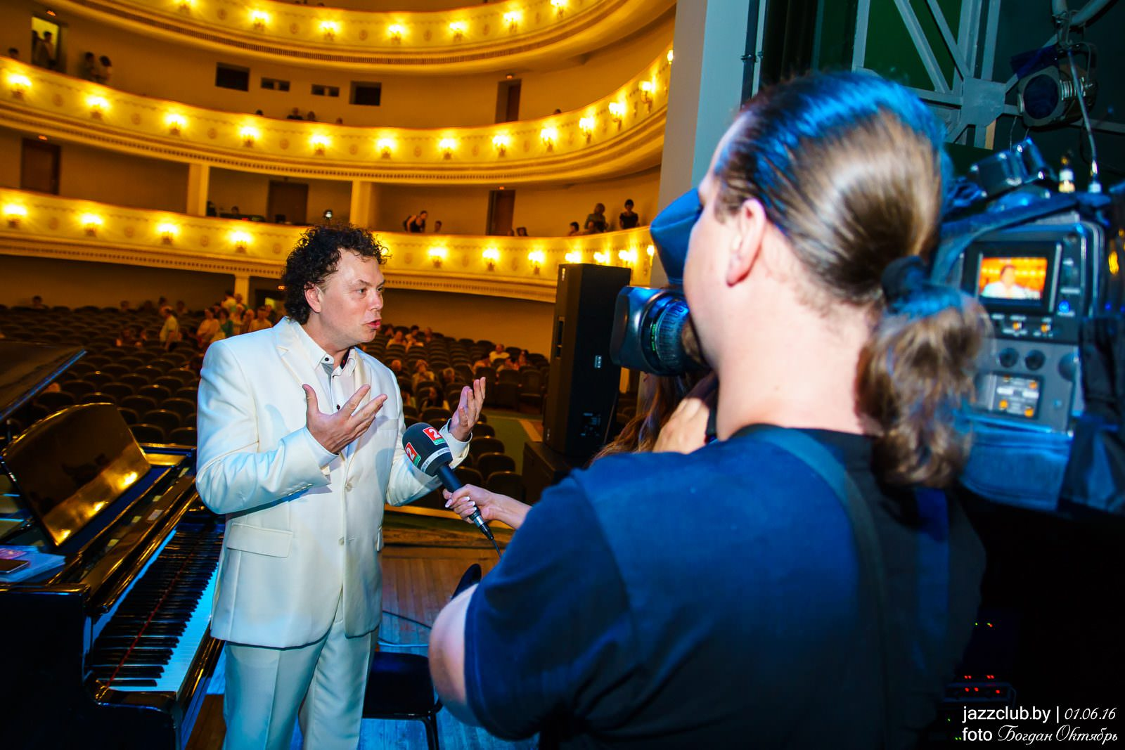 ДЖАЗ в МИНСКЕ: Евгений Владимиров на фестивале JAZZinMinsk-2016 во Дворце Профсоюзов