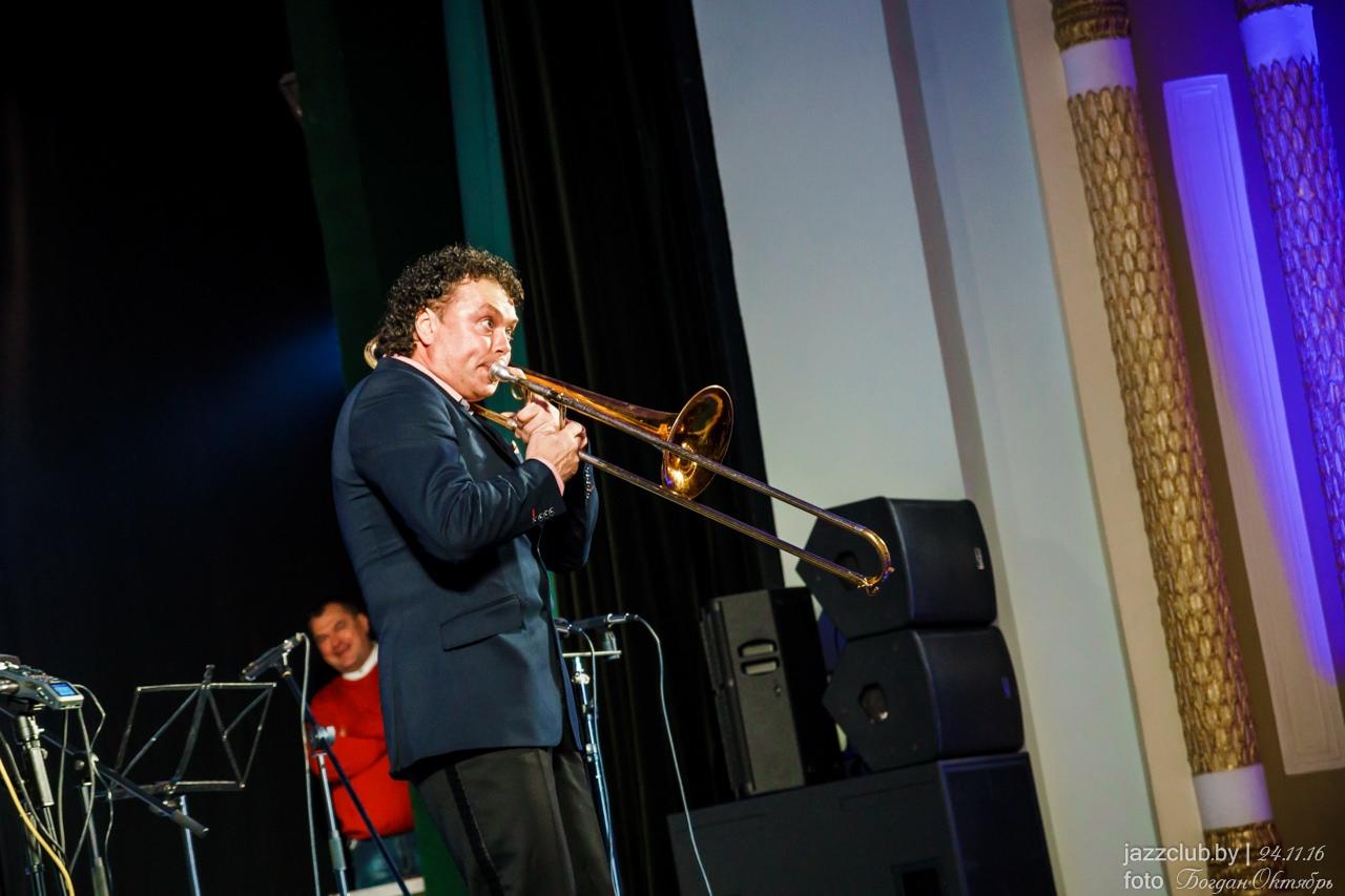 Евгений Владимиров (EVGENY VLADIMIROV) - джаз тромбонист, основатель ДЖАЗ в МИНСКЕ и фестиваля JazzinMinsk